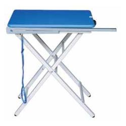 Mesa plegable con horca