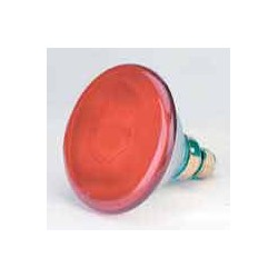 Lámpara Philips 150w roja. Lámparas infrarrojas de luz roja.
