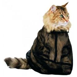 Bolsa de malla para lavar gatos