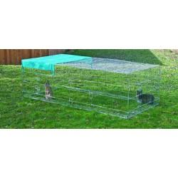 Parque para Conejos Grande - Medidas: 230x115x70 cm.