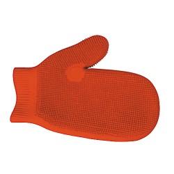 Manopla de látex para masaje