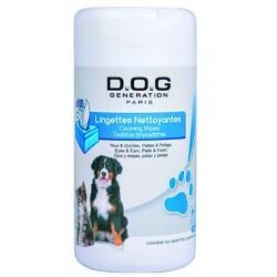 Toallitas de limpieza para perros y gatos