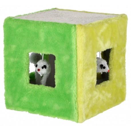 Cubo para jugar de sisal
