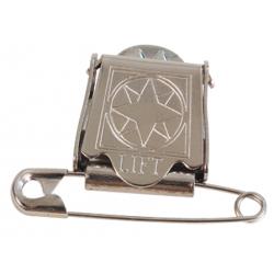 Pinza clip para dorsal en exposiciones