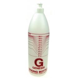 Botella mezcladora para champú