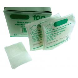 Compresas de GASA de algodón hidrófilo